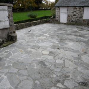 Dallage en pierre