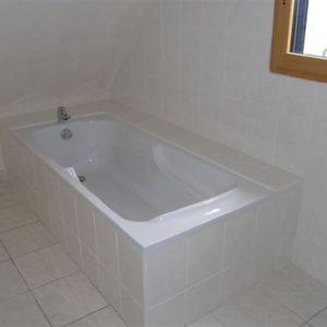 Habilllage d'une baignoire